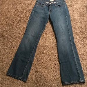 Women's Levi's 515 boot cut jeans. Size 12L